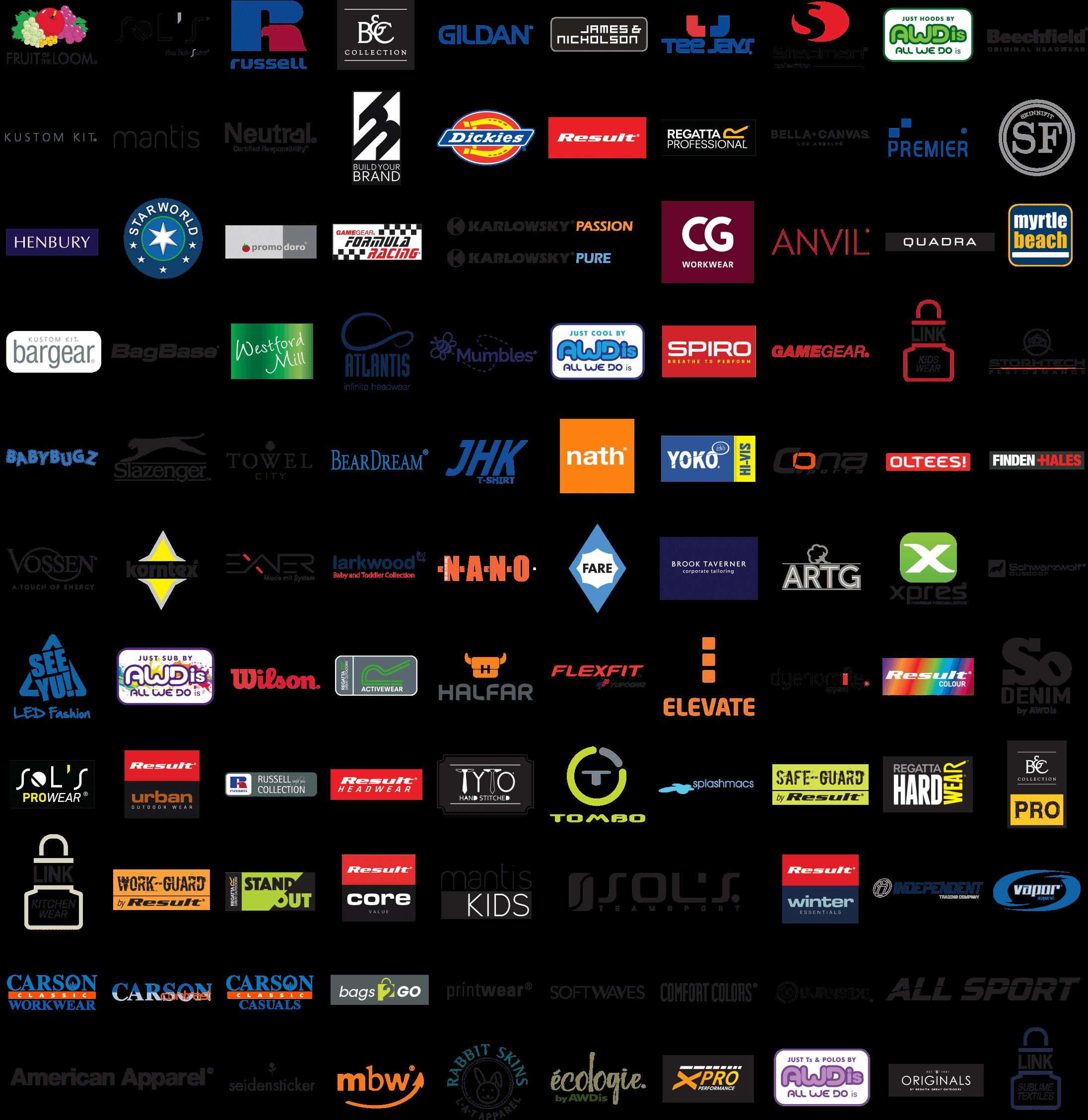 Besticken von Textilien mit Logo & Motiv in der Schweiz - Nüssli Stickerei